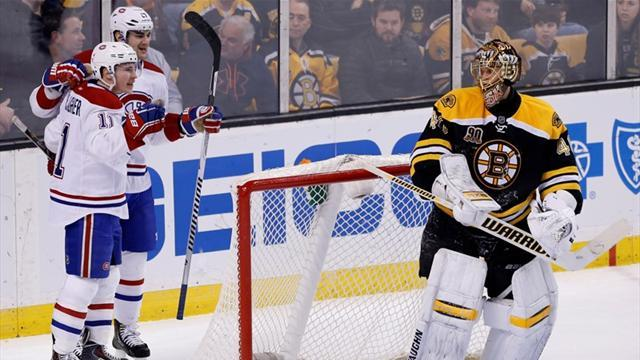 Ice Hockey - Canadiens end Bruins streak