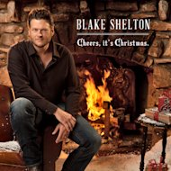 "This CD cover image released by Warner Bros., shows the holiday release by Blake Shelton, ""Cheers, It's Christmas."" (AP Photo/Warner Bros.)"