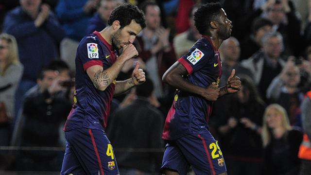 Liga - Bayern-bound Barca edge past Levante