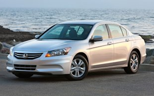 The four-cylinder Accord is among the cars we think are appropriate for young drivers.