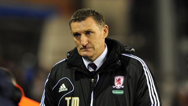Football - Mowbray vows to fight on at Boro
