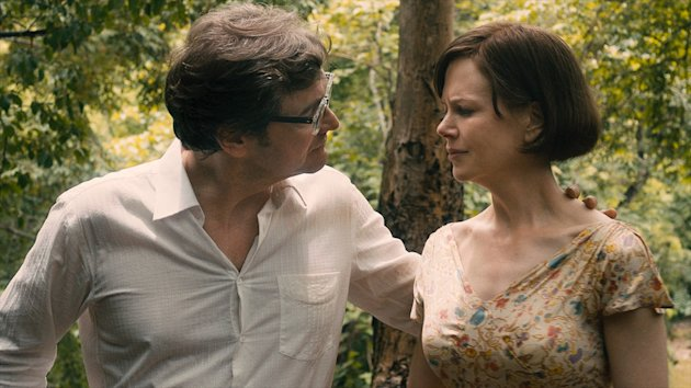 Colin Firth and Nicole Kidman in 'The Railway Man'