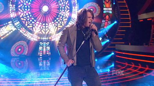 "Top 8: Caleb Johnson ""Chain of Fools"""
