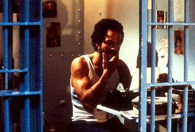 Benjamin Bratt as Puerto Rican poet-playwright-actor Miguel Pi?ero in Miramax's Pinero