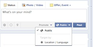 How To Create Content For Your Multilingual Facebook Page image facebook update public12