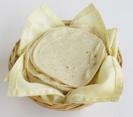 Tortillas can be made into delicious, healthy meals.