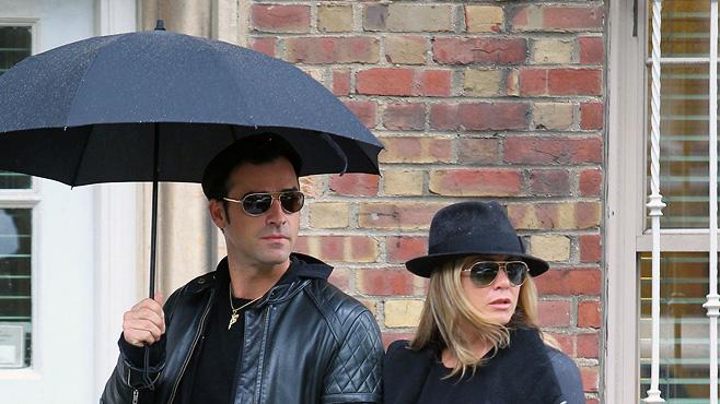 Justin Theroux Jennifer Aniston Top Shots