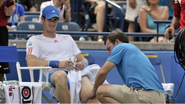 Tennis - Murray withdraws as rain hits Toronto Masters