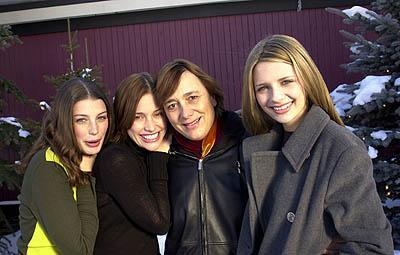 Jessica Pare, Piper Perabo, Lea Pool and Mischa Barton of Lost and Delirious Sundance Film Festival 1/21/2001