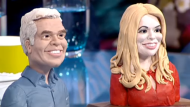 Phillip Schofield and Holly Willoughby get the Wallace and Gromit look