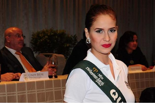 Miss Philippines Earth 2012 Stephany Stefanowitz. (NPPA Images)