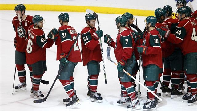 Ice Hockey - Cullen on target as Wild edge Blackhawks in shoot-out