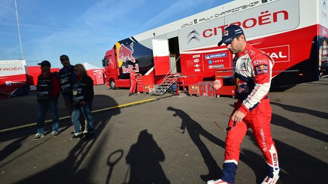 WRC - Loeb crashes out of Rally d'Italia lead
