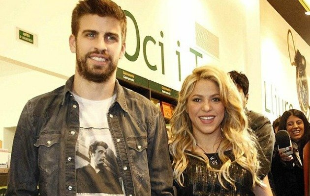 Pique and Shakira are huge celebrities in Barcelona.