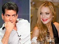 "Sheen & Lohan for ""Scary Movie 5"""