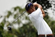 Leading Asian golfers voiced support for Taiwan's Lu Wei-chih, seen here in 2007, after he underwent surgery for a brain tumour