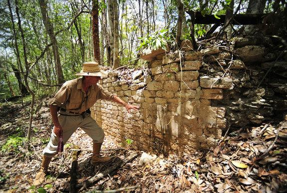 Ruins of Maya City Discovered in Remote Jungle