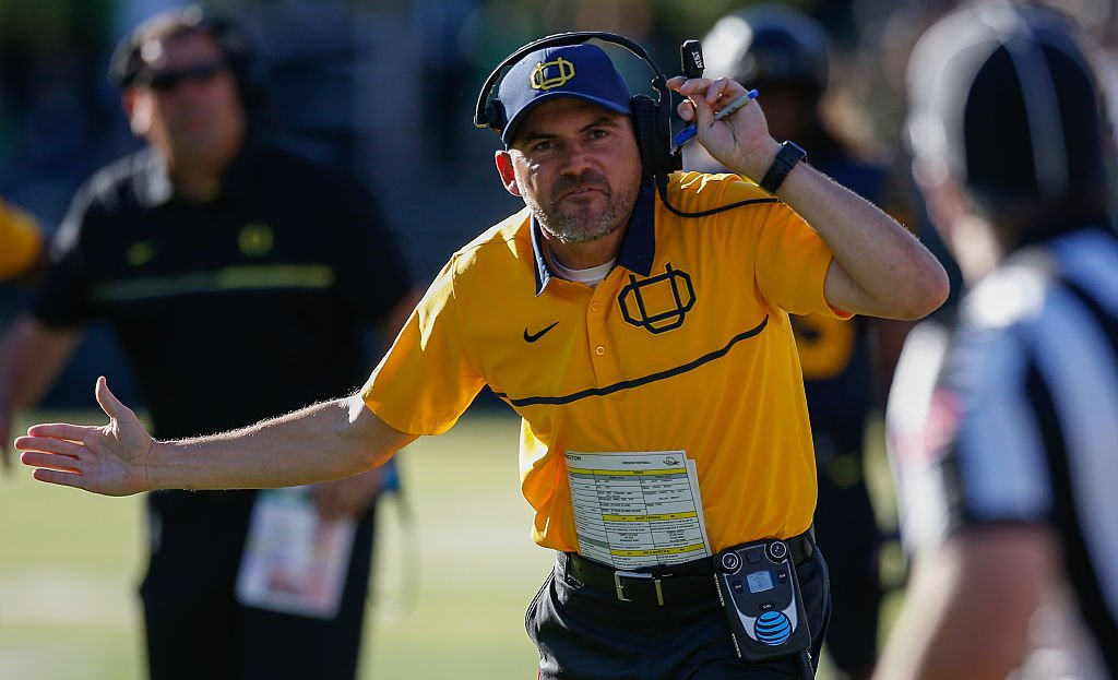 Oregon coach Mark Helfrich is on the hot seat after another blowout loss.
