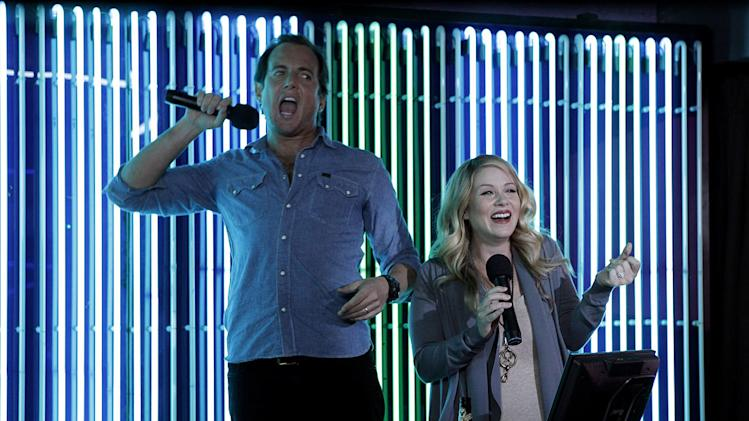 "Will Arnett as Chris and Christina Applegate as Reagan in ""Up All Night."""