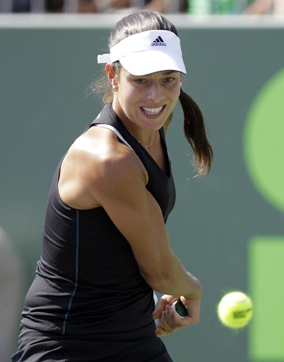 Ivanovic beats Lisicki in 1st round at Stuttgart