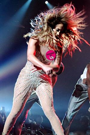 PICTURE: Jennifer Lopez Suffers Another Nip Slip During London Concert