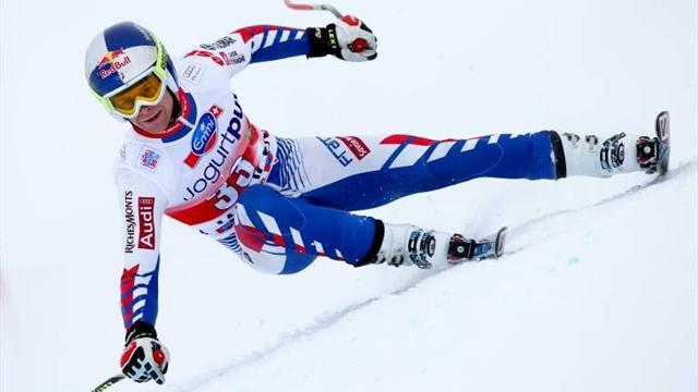Alpine Skiing - Pinturault steals first slalom victory of season