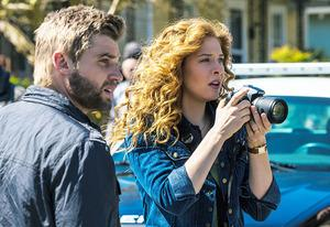 Mike Vogel and Rachelle Lefevre | Photo Credits: Mciahel Tackett/CBS