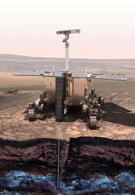 Russia and Europe Team Up for Mars Missions