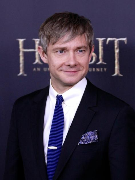 Martin Freeman attends 'The Hobbit: An Unexpected Journey' premiere at the Ziegfeld Theater, New York City, on December 6, 2012 -- Getty Images