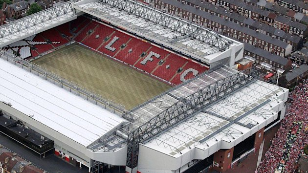 Aerial view of Anfield (Reuters)
