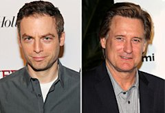 Justin Kirk, Bill Pullman   | Photo Credits: Larry Busacca/Getty Images; Tony Barson/WireImage