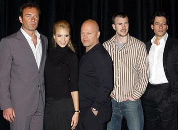 Julian McMahon, Jessica Alba, Michael Chiklis, Chris Evans and Ioan Gruffudd ShoWest 2005 - 20th Century Fox Luncheon - Las Vegas, NV - 3/17/05