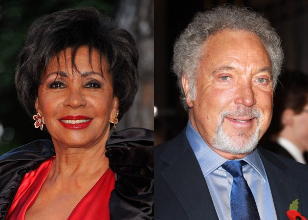 tom jones and shirley bassey