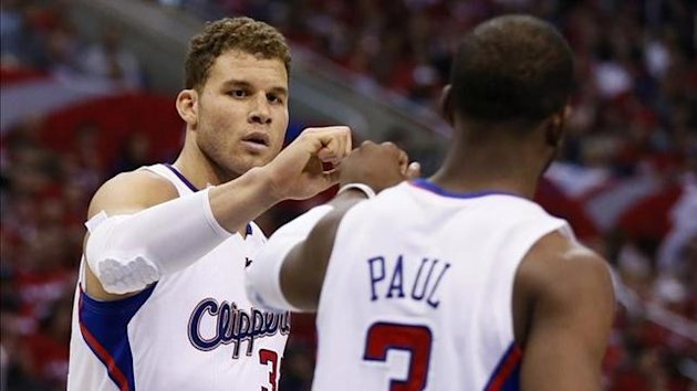 Blake Griffin Chris Paul Los Angeles Clippers