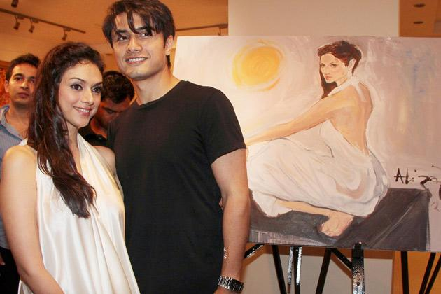 Ali Zafar and Aditi promote 'LPNY'