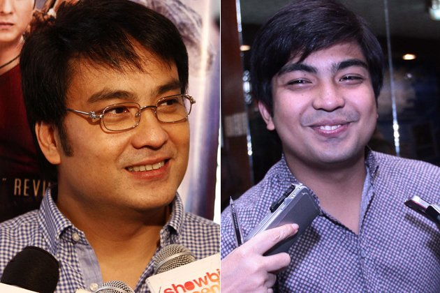 Senator Bong Revilla and Jolo Revilla (NPPA Images)