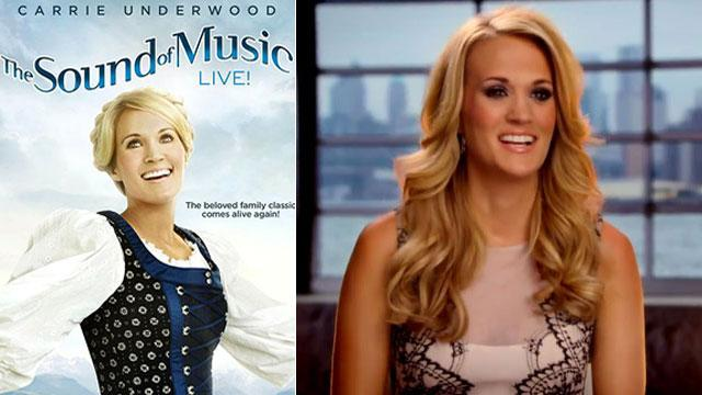 WATCH: Carrie Underwood In 'The Sound Of Music'