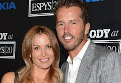 Willa Ford and Mike Modano | Photo Credits: Michael Kovac/WireImage