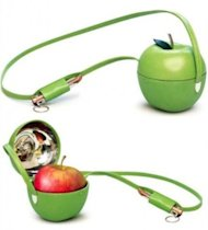 The Hermes apple purse.