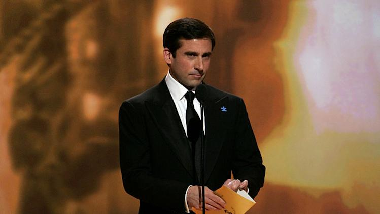 Steve Carell at the 64th annual Golden Globe Awards.