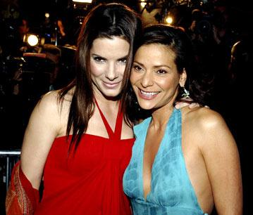 Sandra Bullock and Constance Marie at the Hollywood premiere of Warner Bros. Pictures' Miss Congeniality 2: Armed and Fabulous