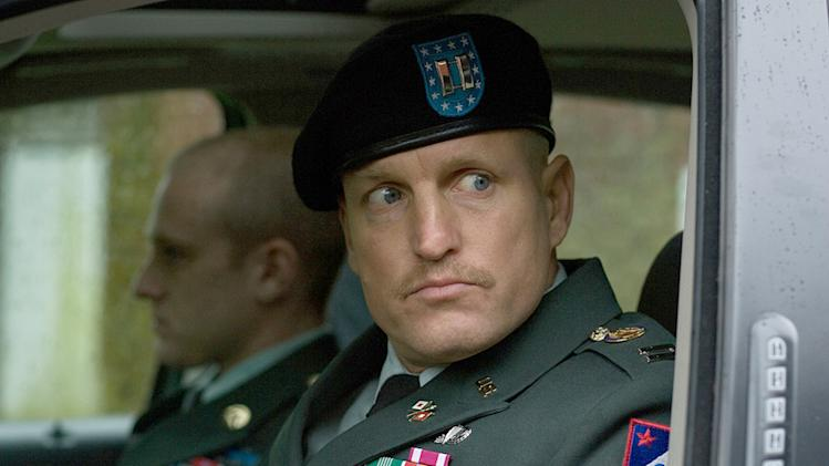 The Messenger Production Photos 2009 Woody Harrelson