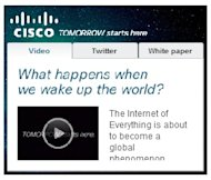 4 Reasons Why Content Marketing is Scaring the Pants Off Media Companies image cisco ad