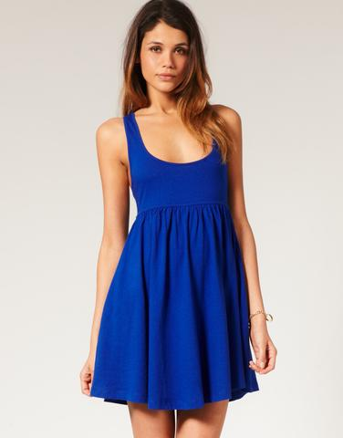 Summer Dress with Racer Back, $34.48, at ASOS