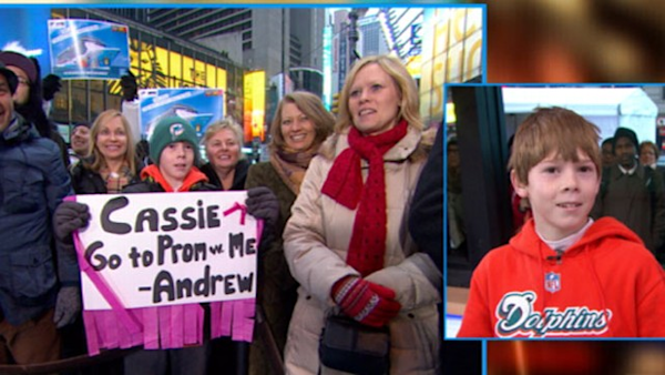 Good Morning America Watch Live : Prom proposal on gma live watch the video yahoo good