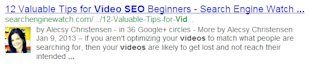 Video SEO: Focus on Self Hosted Videos Rather Than YouTube image google rich snippet