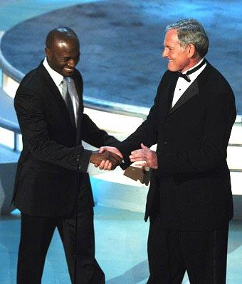 Taye Diggs and Victor Garber Presenters for Outstanding Lead Actress in a Drama Series Emmy Awards - 9/19/2004