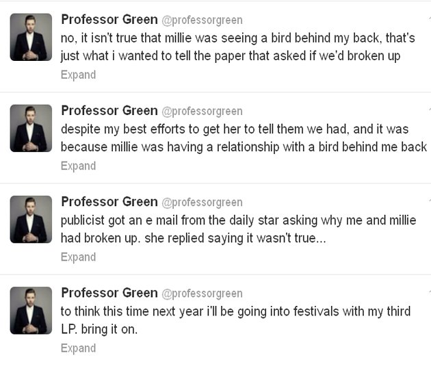 professor green twitter