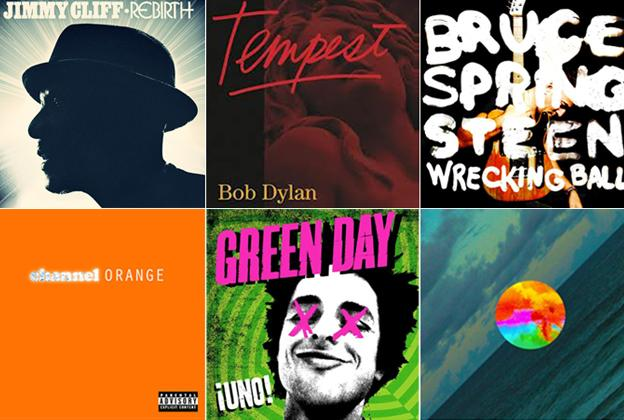 The Best Albums of 2012