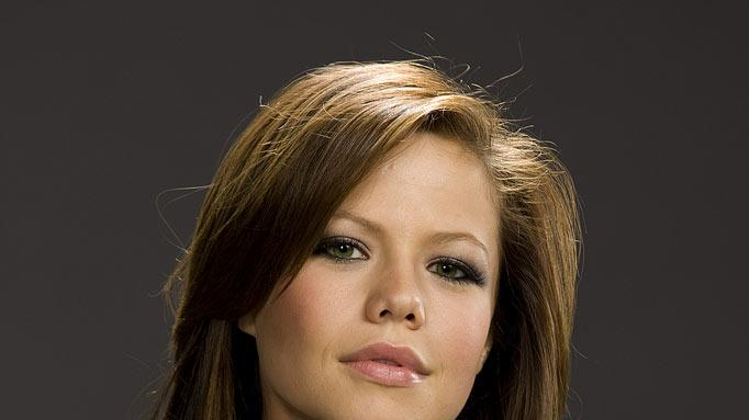 "Tammin Sursok stars as Colleen Carlton on ""The Young and the Restless."""